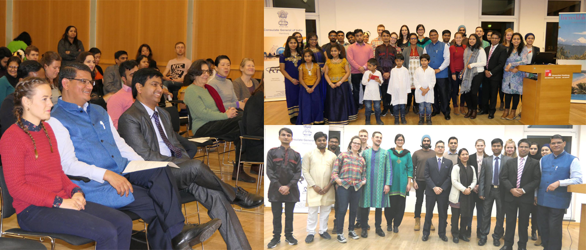 World Hindi Day Celebration at University of Hamburg (January 12, 2018)