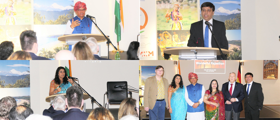 "State Promotional Tourism event ""DISCOVER INDIA - WONDERFUL RAJASTHAN"" at the Consulate. (February 20, 2020)"