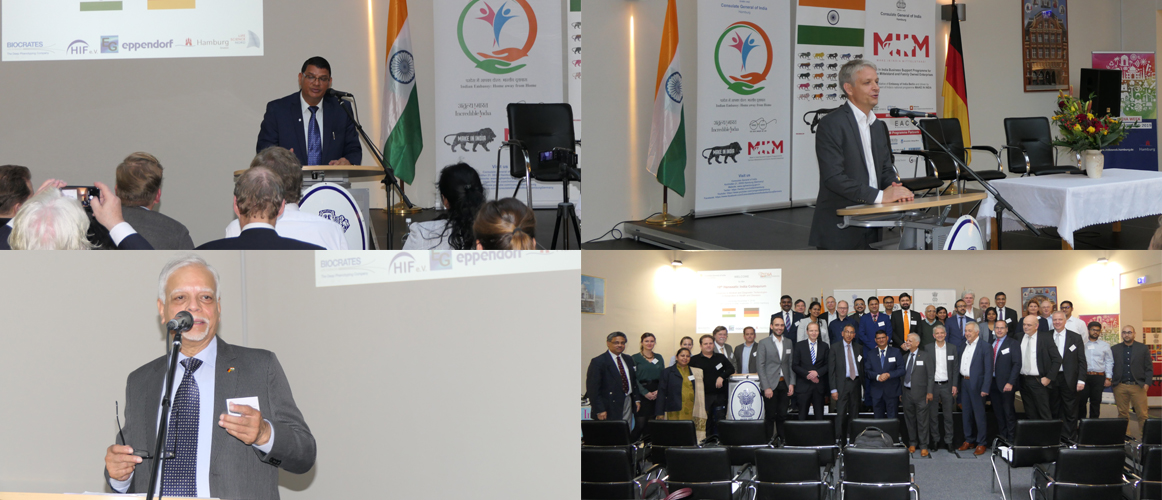 "Event ""10th Hanseatic India Colloquium"" at the Consulate General of India, Hamburg (November 05, 2019)"