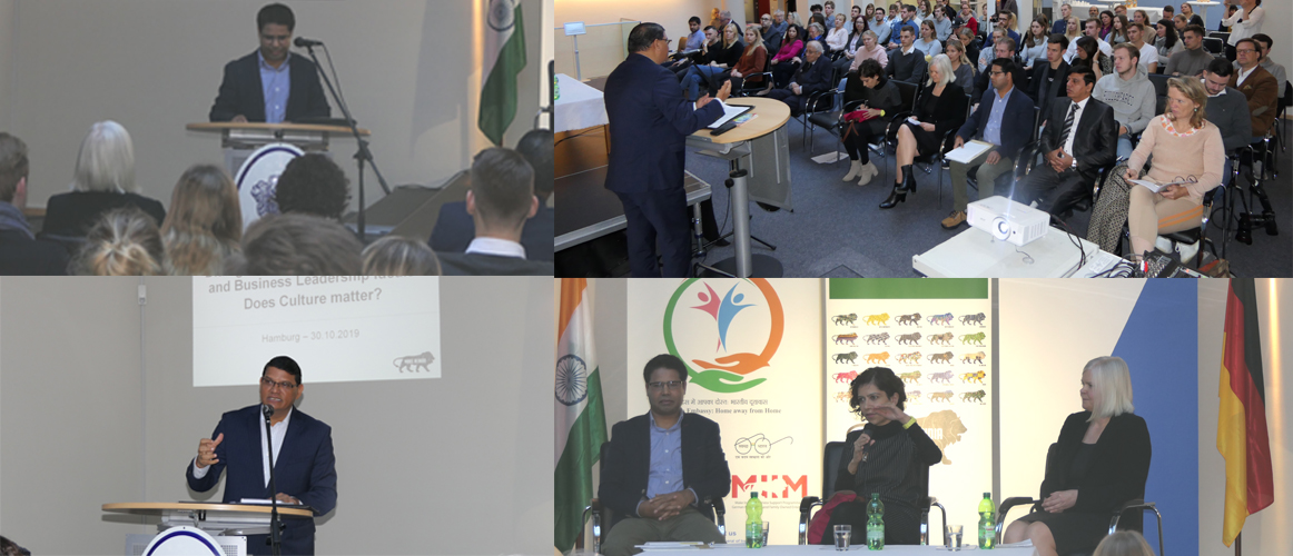 "Event ""Dialogue on Indian Foreign Policy and Business Leadership Ideals. Does Culture Matter?"" (October 30, 2019)"
