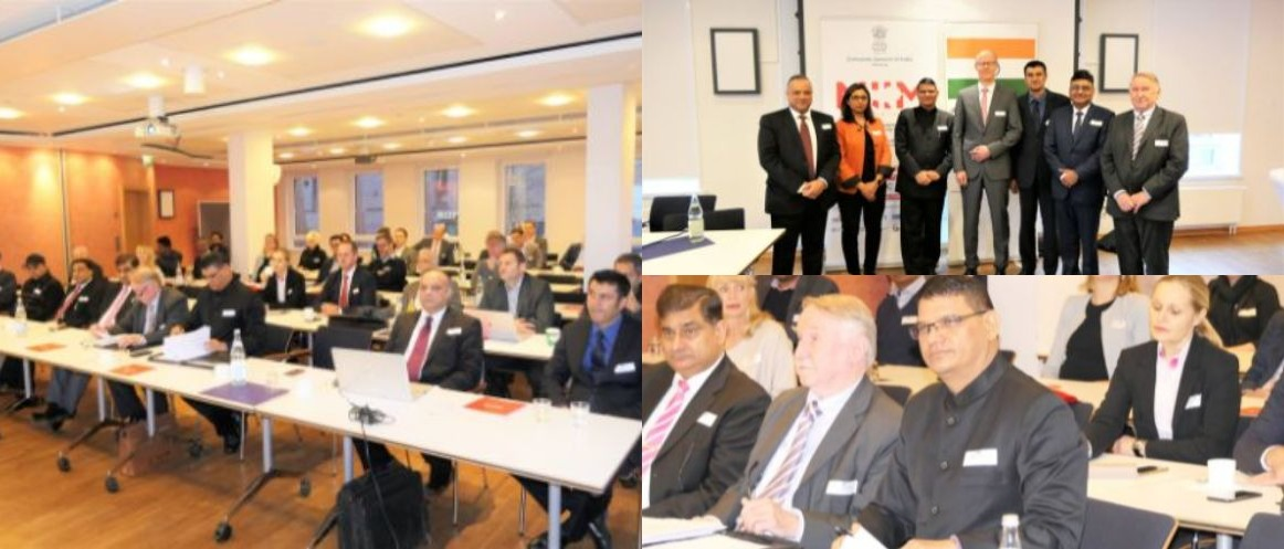 "India Business Day in Schleswig Holstein"" on 12 December 2018 at IHK Lübeck"