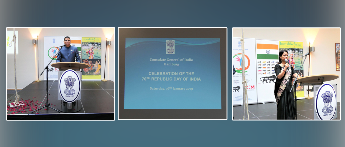 Celebration of Republic Day of India at the Consulate (January 26, 2019)