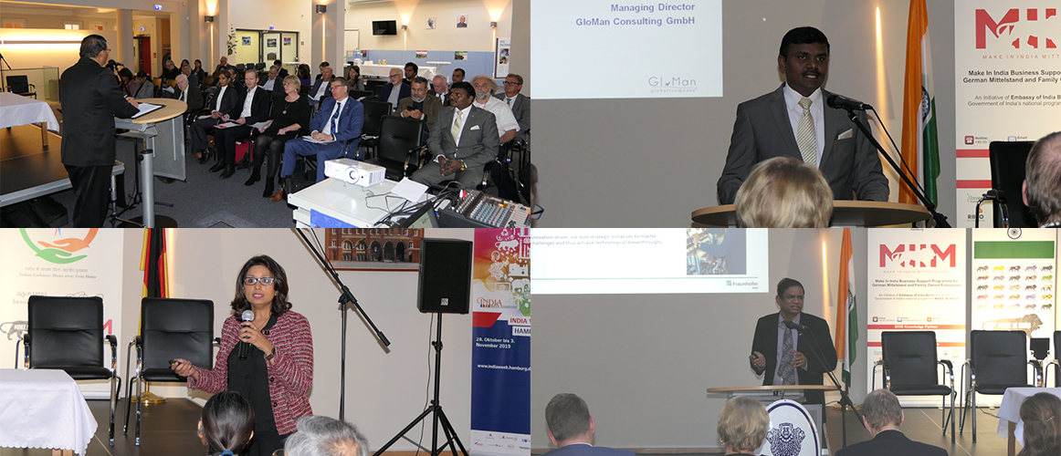 States of India Summit at the Consulate General of India, Hamburg (October 29, 2019)